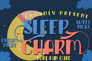 Print on Demand: Sleep Charm Script & Handwritten Font By jehansyah251