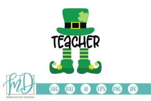 Print on Demand: Teacher Leprechaun Graphic Crafts By Morgan Day Designs