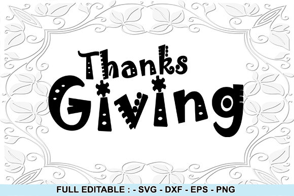 Download Free 4 Thanks Giving Designs Graphics for Cricut Explore, Silhouette and other cutting machines.