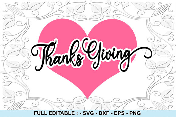Print on Demand: Thanks Giving Graphic Crafts By creativesya