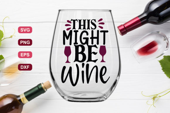 Download Free Wine Bundle Vol 2 Graphic By Subornastudio Creative Fabrica for Cricut Explore, Silhouette and other cutting machines.