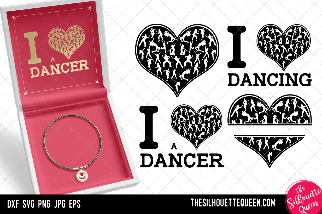 Download Free Zumba Dancer Heart Svg Valentines Day Graphic By for Cricut Explore, Silhouette and other cutting machines.