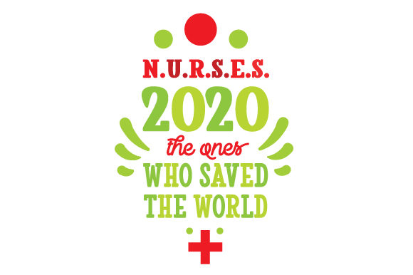 NURSES 2020 the Ones Who Saved the World Medical Craft Cut File By Creative Fabrica Crafts