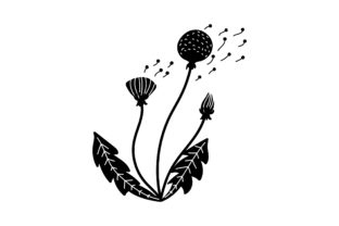 Dandelion Nature & Outdoors Craft Cut File By Creative Fabrica Crafts 2