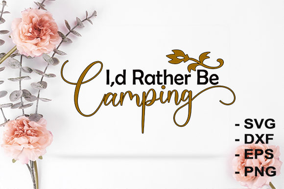 Print on Demand: Camping Graphic Crafts By creativesya