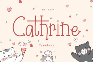 Print on Demand: Chatrine Display Font By ardyanatypes