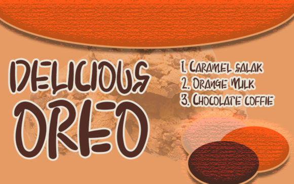Download Free Chocolate Cookie Font By Inermedia Studio Creative Fabrica for Cricut Explore, Silhouette and other cutting machines.