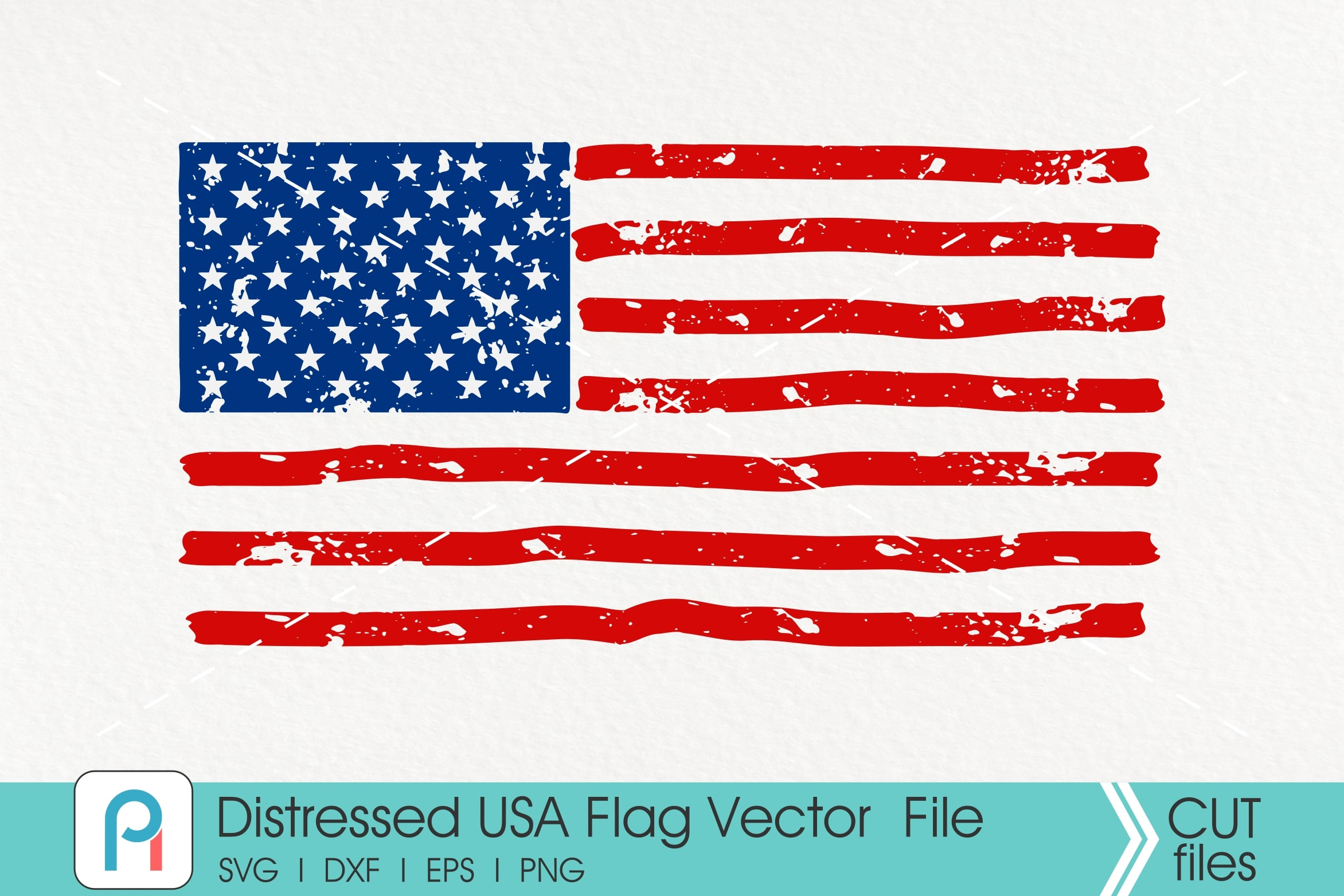 Download Free Distressed American Flag Usa Flag Graphic By Pinoyartkreatib for Cricut Explore, Silhouette and other cutting machines.