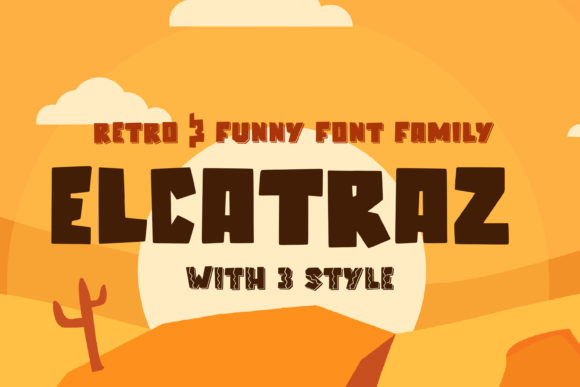 Print on Demand: Elcatraz Display Font By almarkhatype