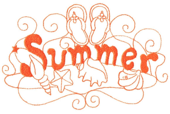 Enchanted Summer Summer Embroidery Design By Sue O'Very Designs