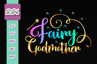 Download Free Fairy Godmother Baptism Print Cut File Graphic By Digitals By for Cricut Explore, Silhouette and other cutting machines.