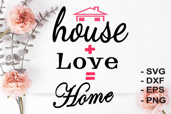 Print on Demand: Family Home Graphic Crafts By creativesya