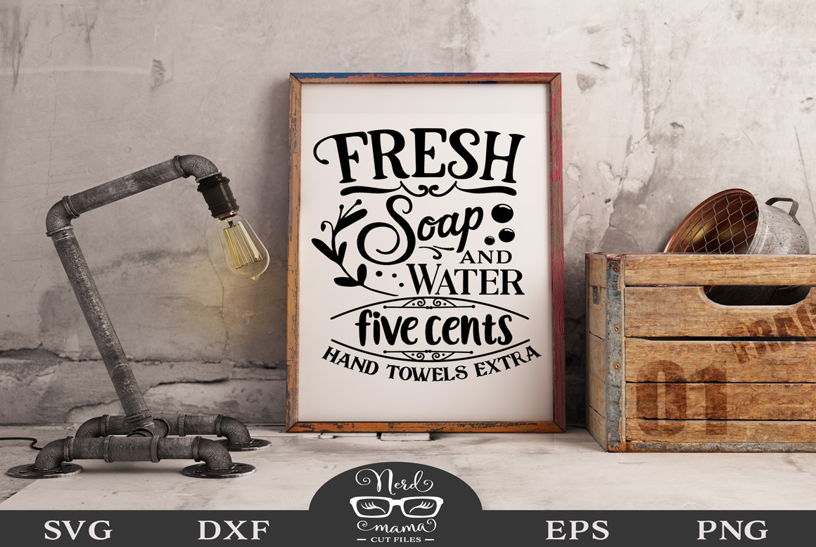 Download Free Fresh Soap Cut File Graphic By Nerd Mama Cut Files Creative for Cricut Explore, Silhouette and other cutting machines.