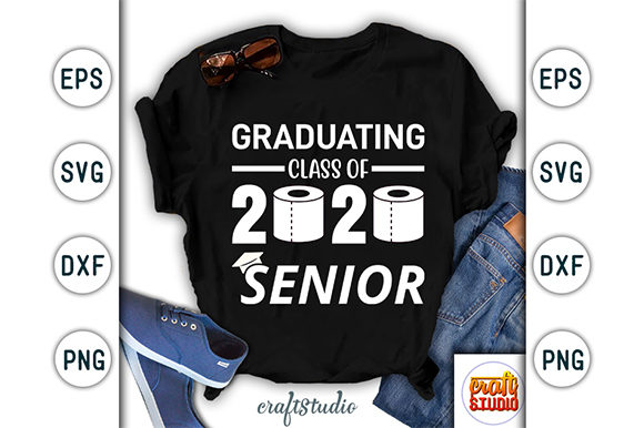 Print on Demand: Graduating Class of 2020 Senior Design Graphic Print Templates By CraftStudio