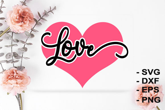 Print on Demand: I Love You Graphic Crafts By creativesya