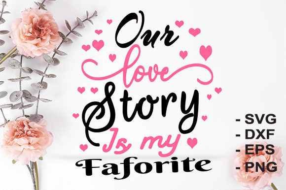 Print on Demand: Love Story Graphic Crafts By creativesya