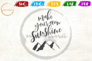 Download Free Make Your Own Sunshine Graphic By Uramina Creative Fabrica for Cricut Explore, Silhouette and other cutting machines.
