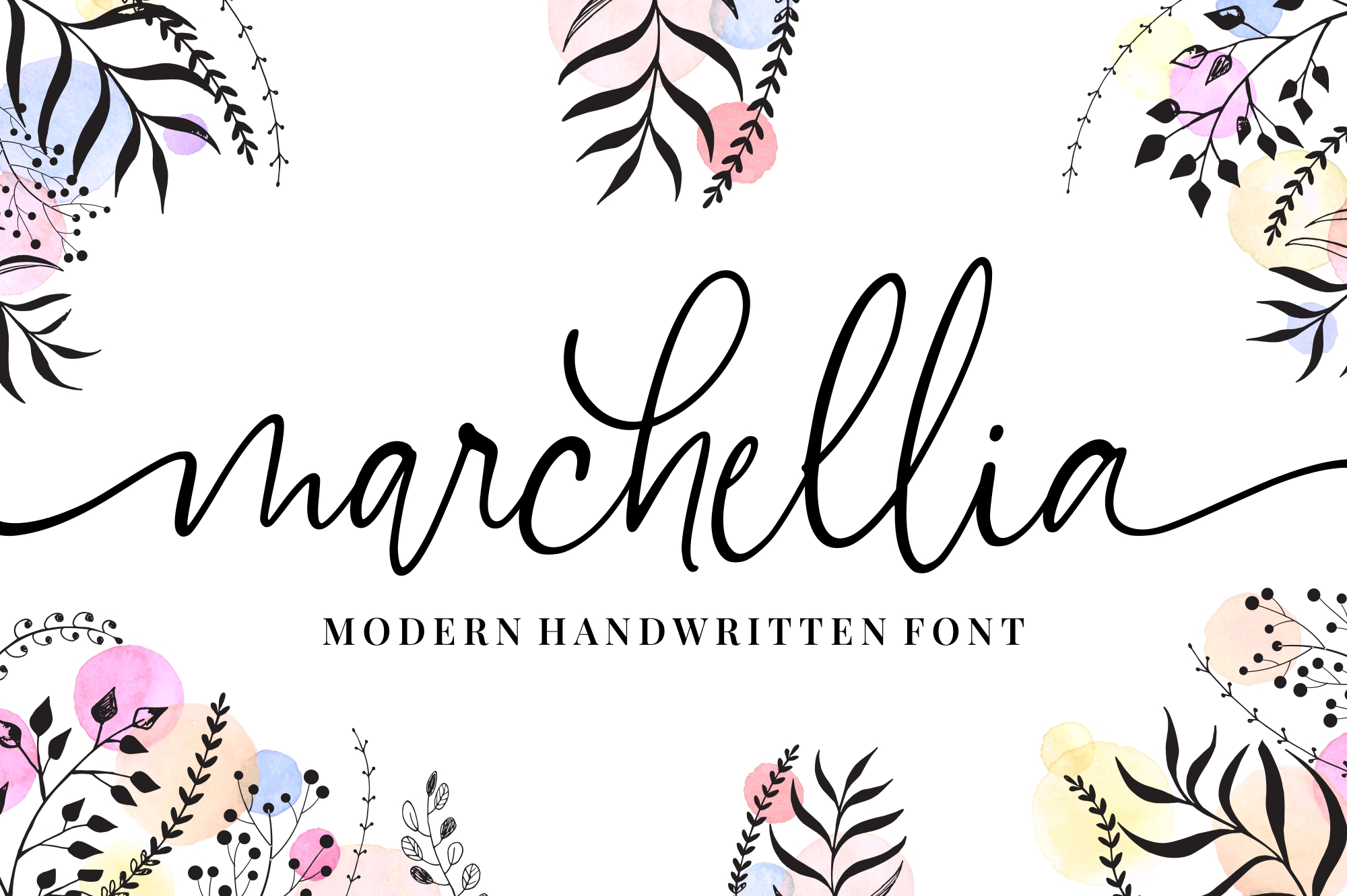 Download Free Marchellia Font By Goodjavastudio Creative Fabrica for Cricut Explore, Silhouette and other cutting machines.