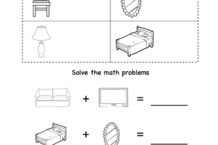 Math Around the House Graphic K By Lory's Kindergarten Resources!