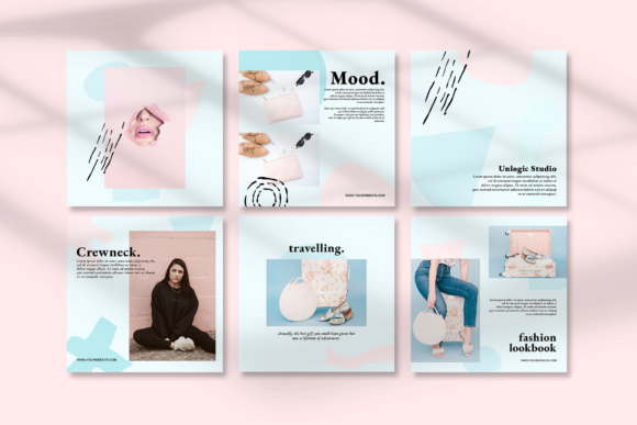 Download Free North Instagram Social Media Pack Graphic By Unlogic Studio Creative Fabrica for Cricut Explore, Silhouette and other cutting machines.