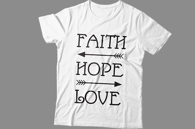 Download Free Faith Hope Love Graphic By Tube Shakiluzzaman Creative Fabrica for Cricut Explore, Silhouette and other cutting machines.