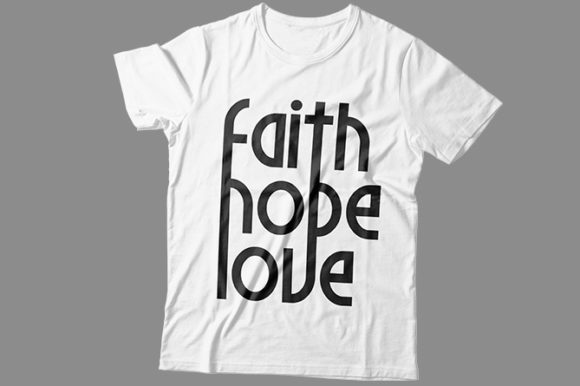 Faith Hope Love Graphic Print Templates By Storm Brain