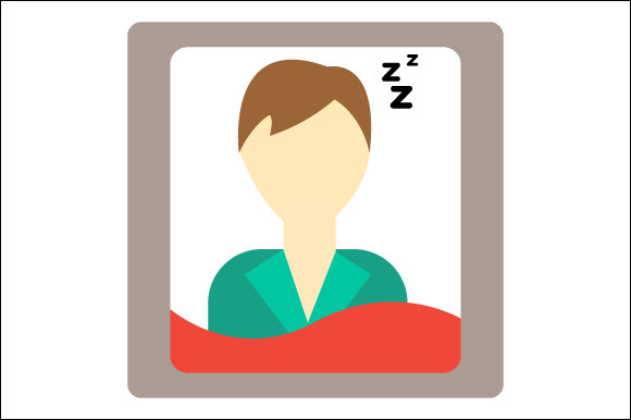 Download Free Icon Of Sleeping Youth Illustration Graphic By Deniprianggono78 SVG Cut Files