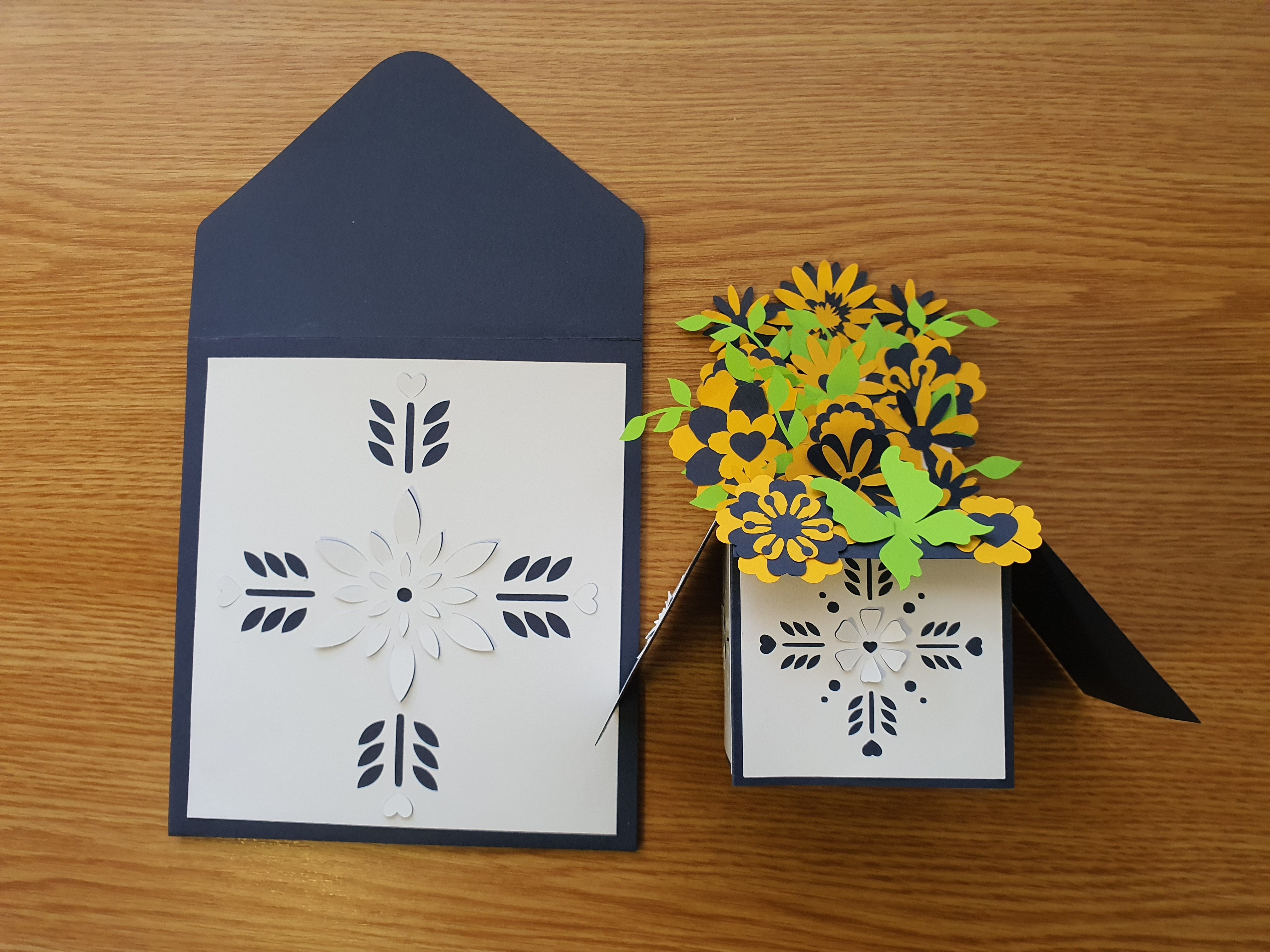3d Pop Up Card With Envelop Graphic By Illustrator Guru