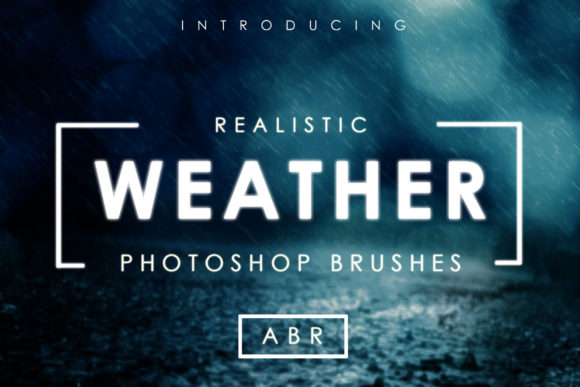 Print on Demand: 75 Realistic Weather Brushes Graphic Brushes By denestudios