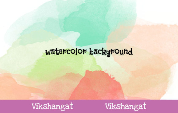 Download Free Abstract Watercolor Background 59 Graphic By Vikshangat for Cricut Explore, Silhouette and other cutting machines.