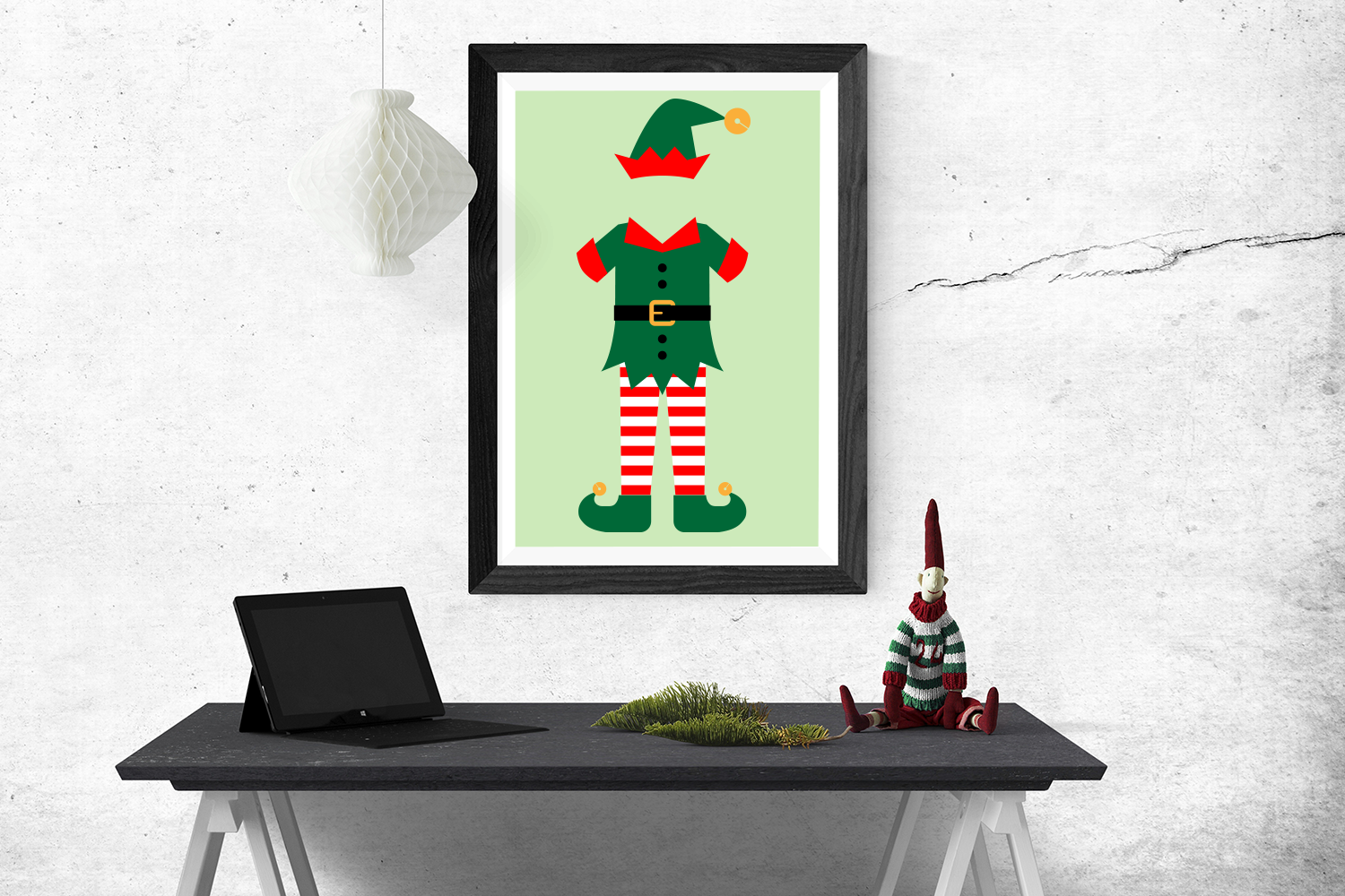 Download Free Christmas Elf Outfit Graphic By Designedbygeeks Creative Fabrica for Cricut Explore, Silhouette and other cutting machines.