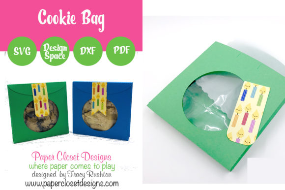Print on Demand: Cookie Bag Graphic 3D SVG By rushton_tracy