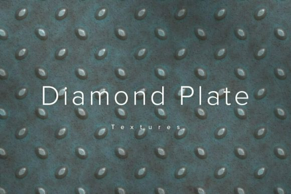 Diamond Plate Textures 2 Graphic Textures By dotstudio