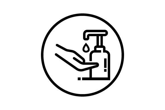 Icons of Washing with Soap Graphic Icons By deniprianggono78