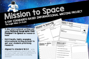 Informational Writing Project: Planets Graphic 2nd grade By hi miss i