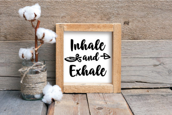 Download Free Inhale And Exhale Graphic By Oldmarketdesigns Creative Fabrica SVG Cut Files