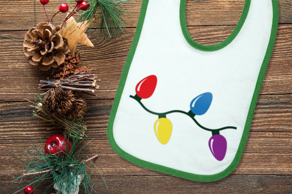 Download Free Joy Christmas Light Duo Graphic By Designedbygeeks Creative for Cricut Explore, Silhouette and other cutting machines.