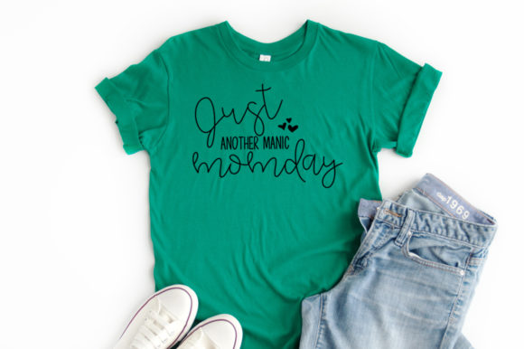 Download Free Just Another Manic Momday Graphic By Simply Cut Co Creative for Cricut Explore, Silhouette and other cutting machines.