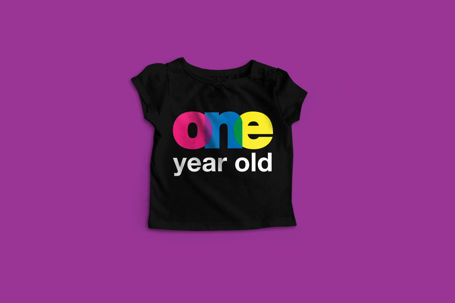 Download Free One Year Old Graphic By Designedbygeeks Creative Fabrica for Cricut Explore, Silhouette and other cutting machines.