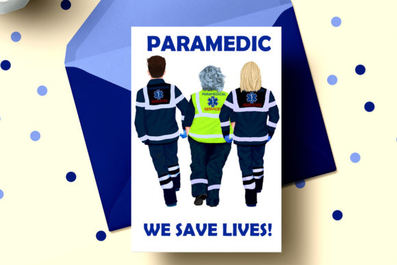 Download Free Paramedic Clipart First Responders Grafik Von Lecoqdesign for Cricut Explore, Silhouette and other cutting machines.