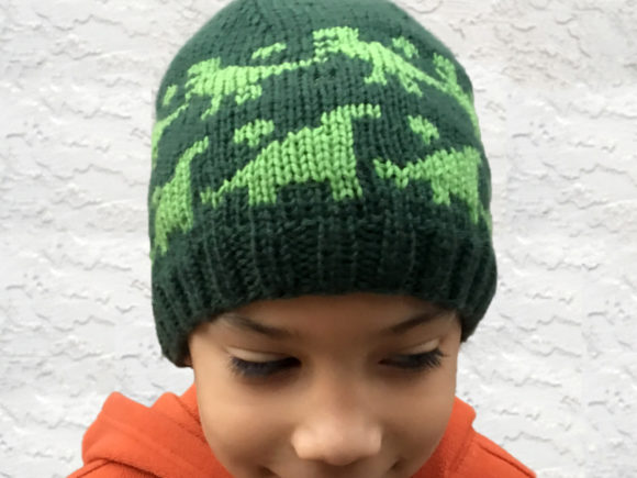 Rawr Beanie Knit Pattern Graphic Knitting Patterns By Knit and Crochet Ever After