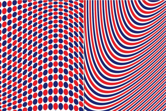 Download Free Red White Blue Geometric Patterns Graphic By Melissa Held for Cricut Explore, Silhouette and other cutting machines.
