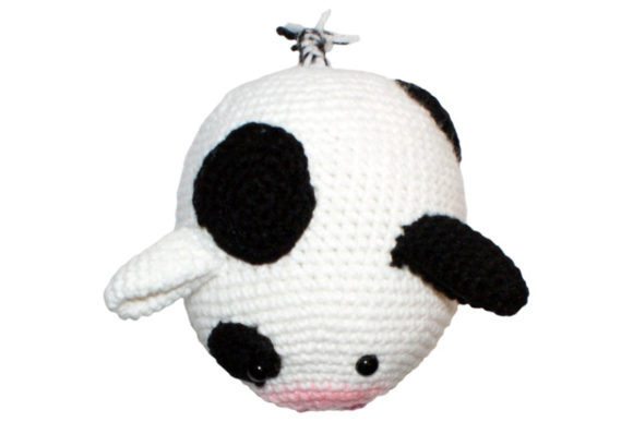 Download Free Roly Poly Cow Crochet Pattern Graphic By Knit And Crochet Ever for Cricut Explore, Silhouette and other cutting machines.