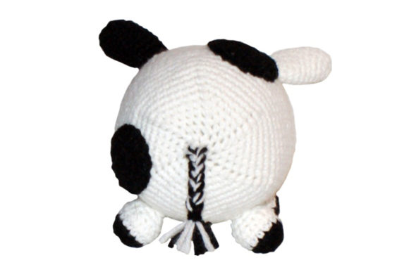 Roly Poly Cow Crochet Pattern Graphic Item