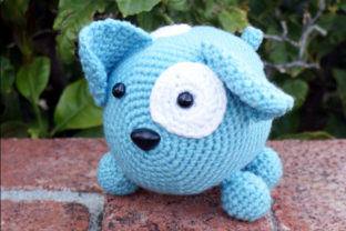 Roly Poly Doggy Crochet Pattern Graphic Crochet Patterns By Knit and Crochet Ever After