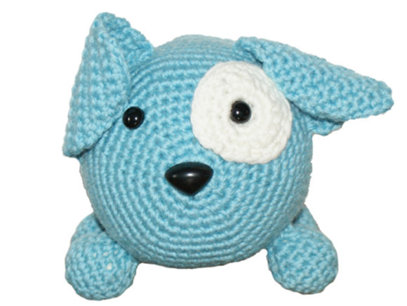 Download Free Roly Poly Doggy Crochet Pattern Grafico Por Knit And Crochet for Cricut Explore, Silhouette and other cutting machines.