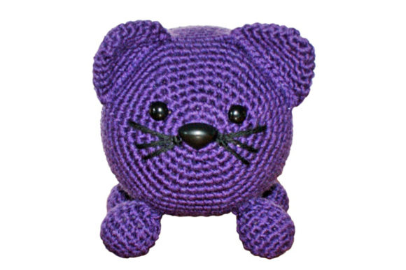 Roly Poly Kitty Crochet Pattern Graphic Download