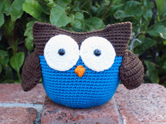 Roly Poly Owl Crochet Pattern Graphic Crochet Patterns By Knit and Crochet Ever After