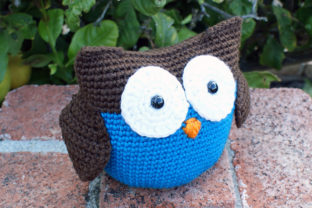 Roly Poly Owl Crochet Pattern Gráfico Patrones de crochet Por Knit and Crochet Ever After 2