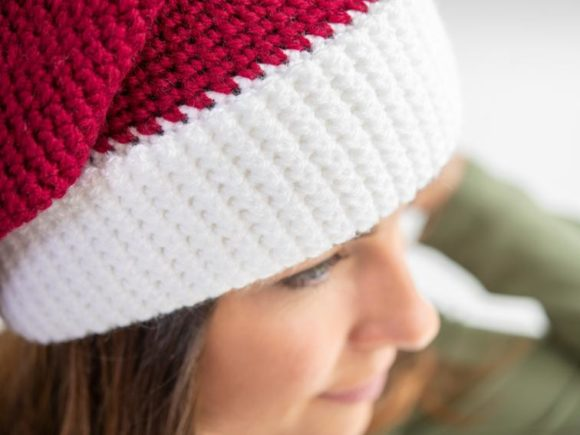 Santa Hat Crochet Pattern Graphic Download